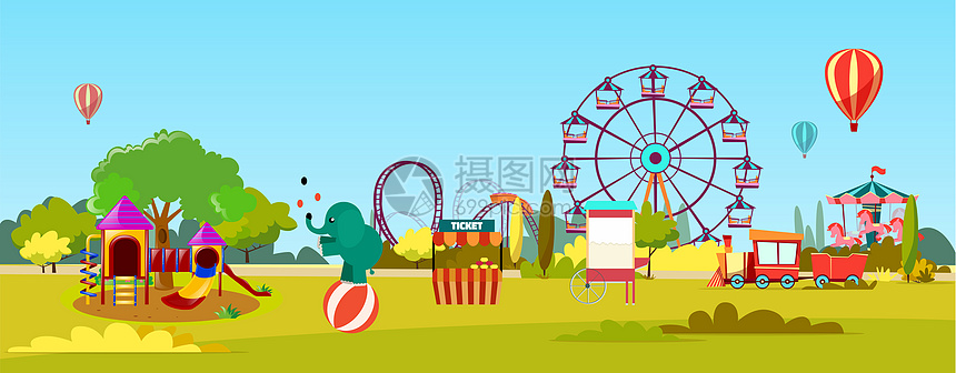 游乐园图片