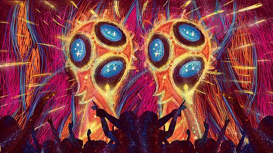 2018俄罗斯世界杯夺冠欢呼图片