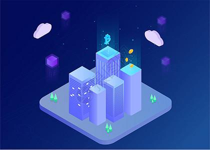 未来智能化城市图片