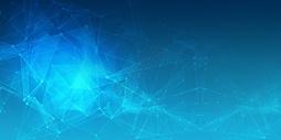 科技线条蓝色背景图片