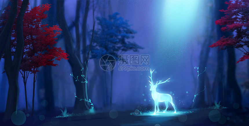 森林精灵图片