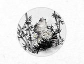 花卉中国风水墨画图片