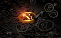 比特币金融场景图片