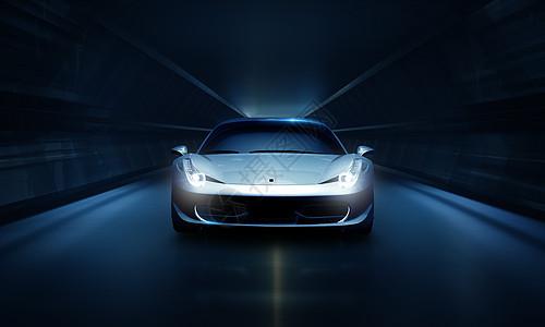 炫酷汽车创意图片