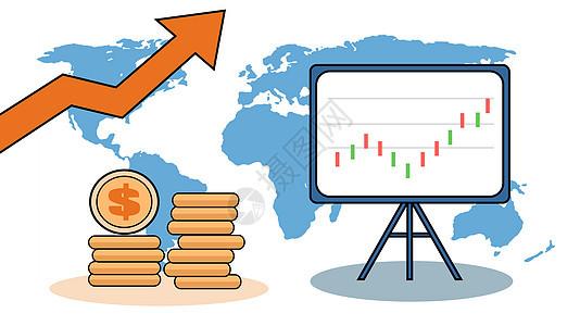 金融股票市场素材图片