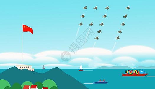 八一建军节----保卫祖国海疆图片