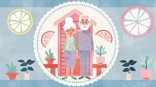老年人幸福生活图片