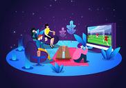 世界杯看球赛图片