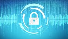 科技数字安全锁图片