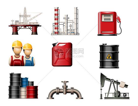 石油开采图片
