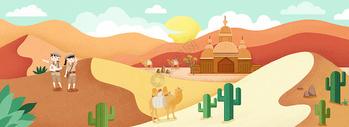 沙漠旅游图片
