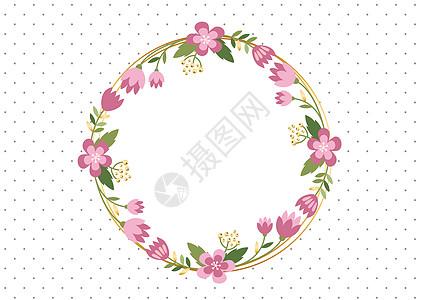 花环背景图片