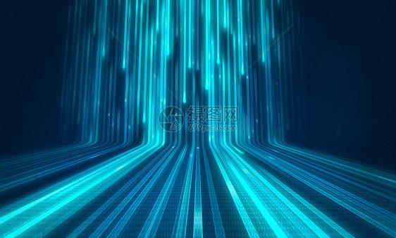 科技发光线条图片