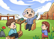 回忆童年图片