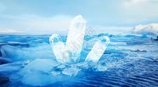 梦幻水晶场景图片