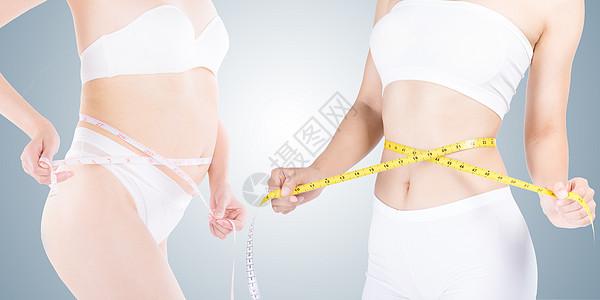 减肥瘦身场景图片