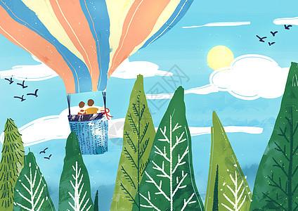 热气球旅游图片