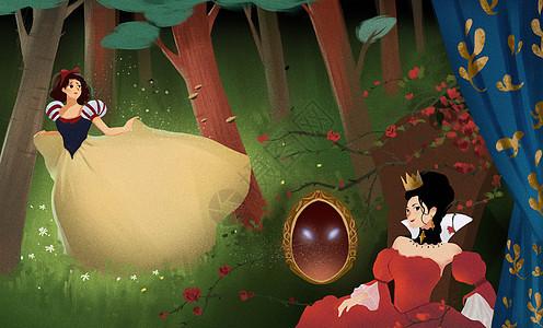 童话白雪公主图片