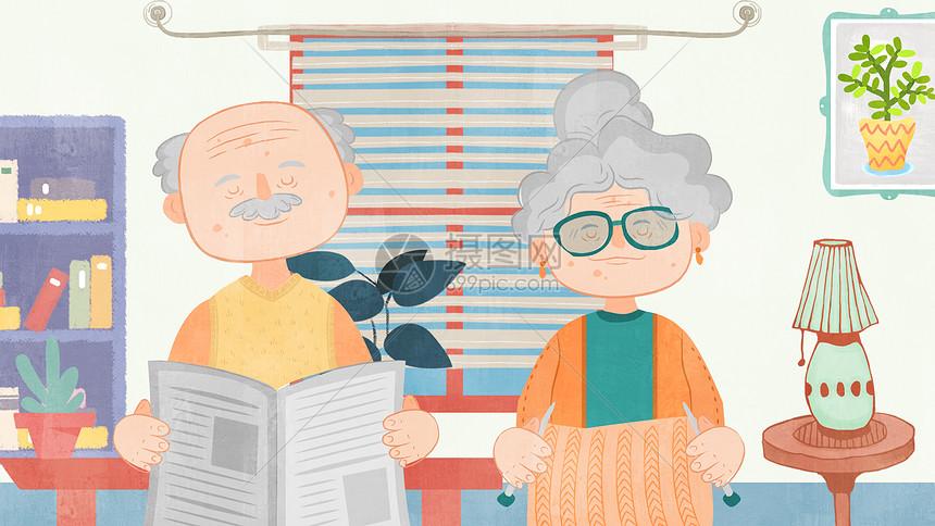 老人趣味生活图片
