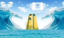 水上乐园场景图片