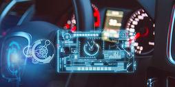 现代汽车科技场景图片
