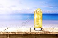 冰爽柠檬水图片