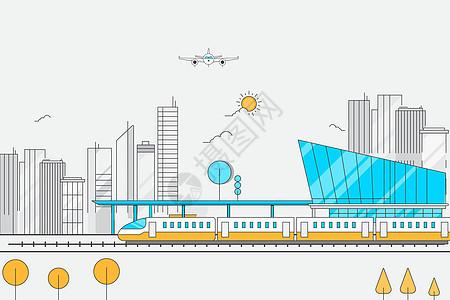 高铁运输图片