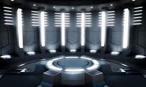 科技空间光效场景图片