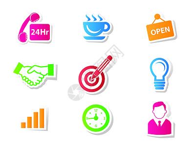 商务网络社交金融图片