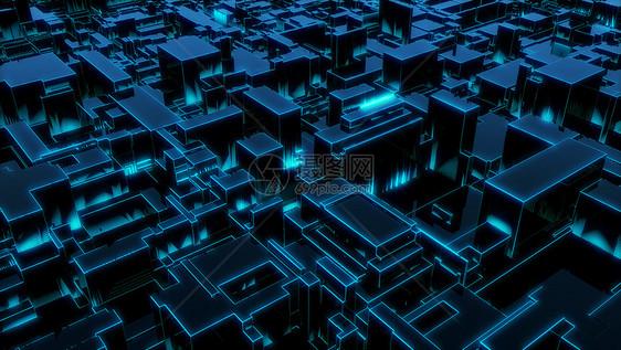 科幻几何空间图片