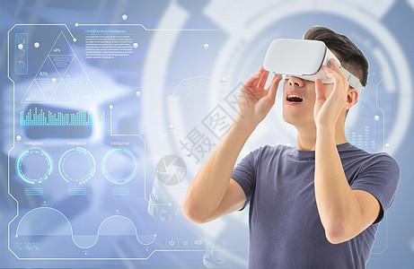 VR眼镜科技图片图片