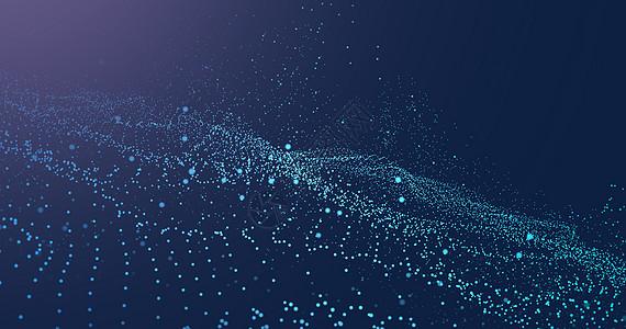 粒子科技背景图片