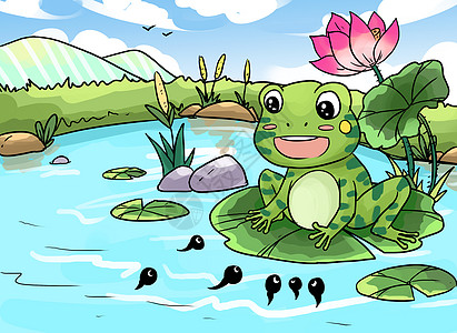 小蝌蚪找妈妈图片