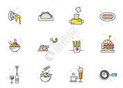 美食食物外卖图标icon图片