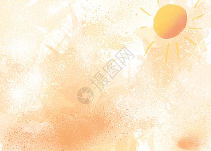 夏天太阳背景图片