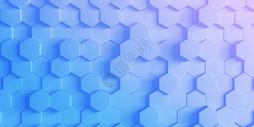 六边形几何背景图片