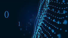 大数据粒子科技背景图片