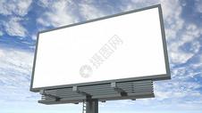高架海报样机背景图片