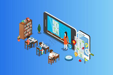 2.5D智慧课堂图片