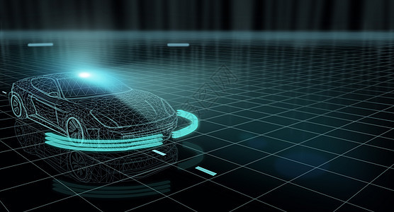 汽车科技背景图片