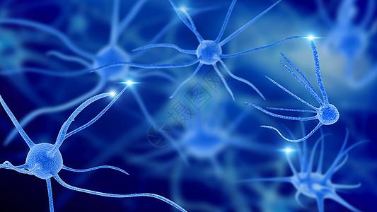 神经细胞场景图片