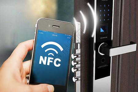 智能NFC刷门禁卡技术图片
