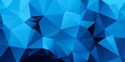 蓝色科技几何背景图片