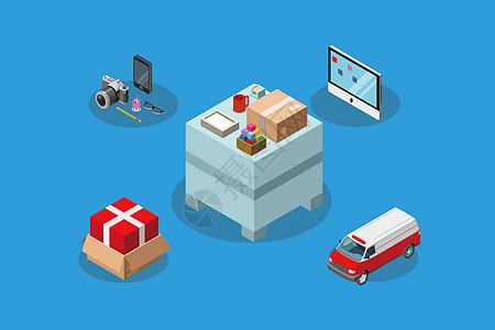 物流运输包裹图片