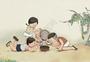 童趣斗蛐蛐图片