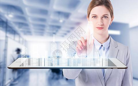 虚拟科技建筑图片