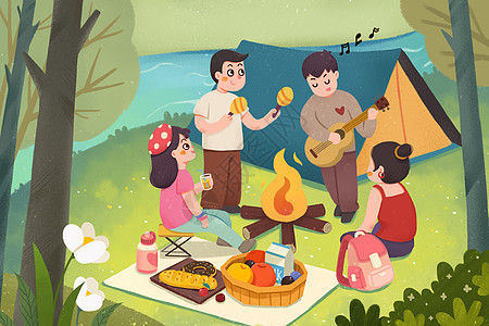 夏令营活动图片