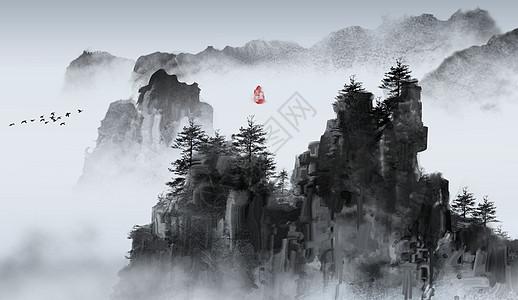 水墨丹青图片大全