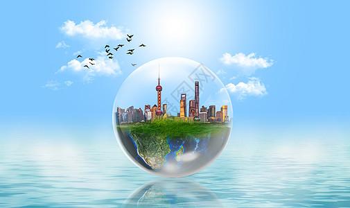 城市新能源场景图片