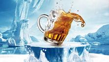 冰爽啤酒场景图片